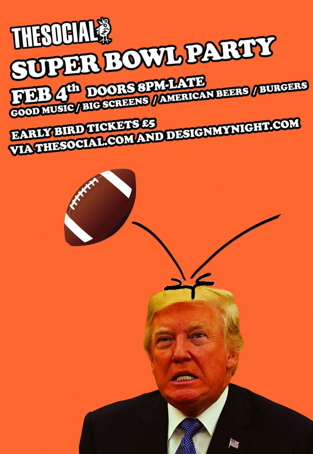 We'll be opening our doors once again for a super-no-nonsense Super Bowl party on Little Portland St
